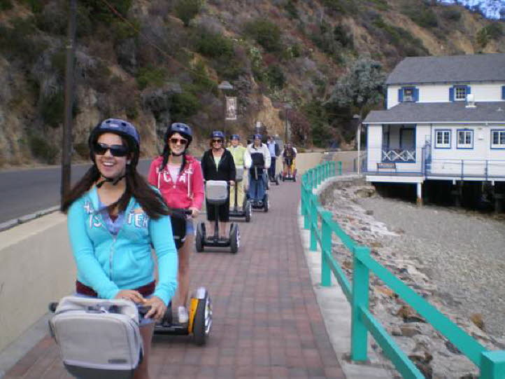 See Segway Avalon Scenic Tour Page for details