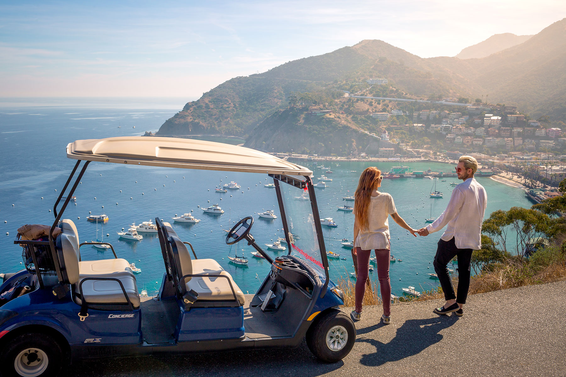 Catalina Island Golf Cart - Romance