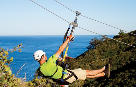 Zip Line Adventure Tour - Catalina Island